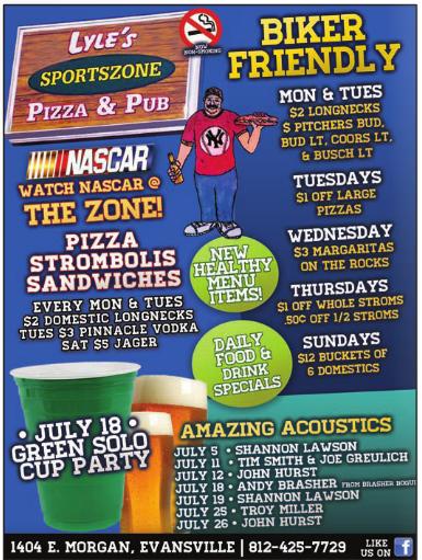 Lyles-Sportszone-Pizza-Stromboli-Sandwiches-beer-Evansville-Indiana
